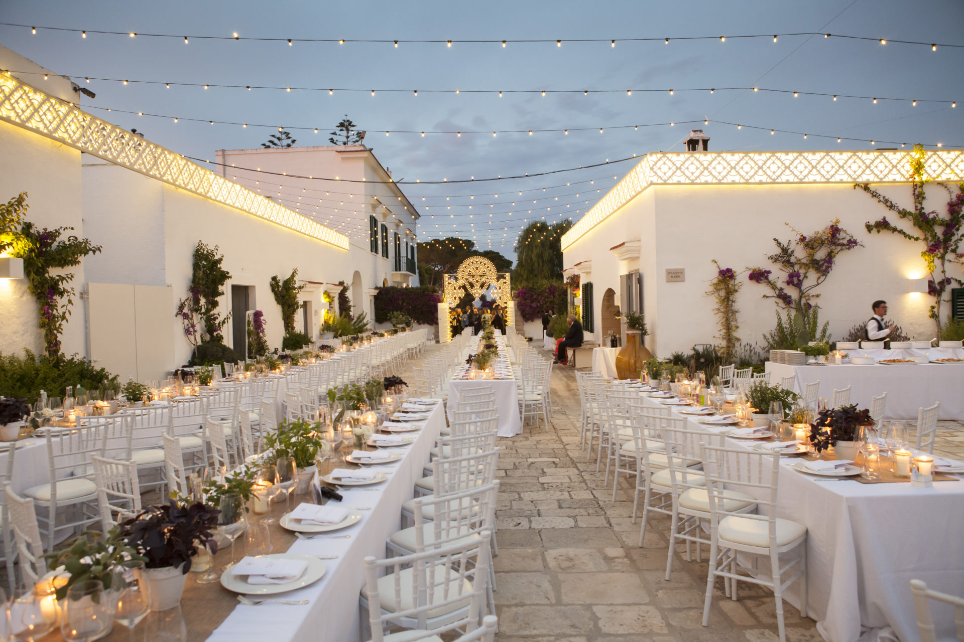 Masseria san nicola marita campanella wedding planner for Luminarie puglia