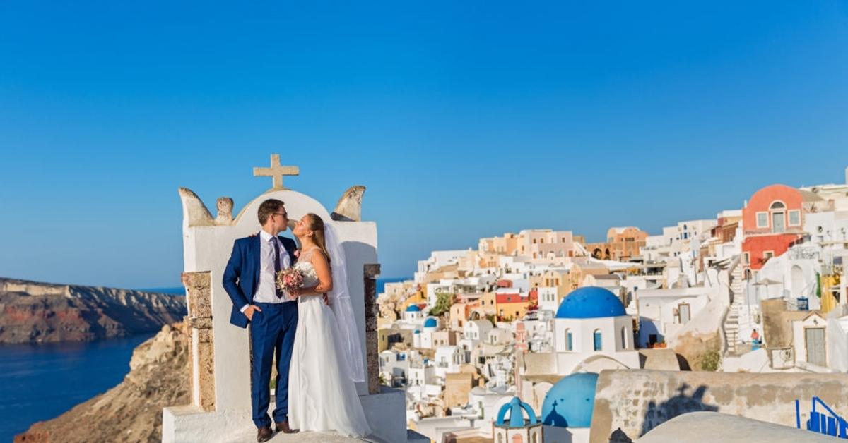 matrimonio a santorini