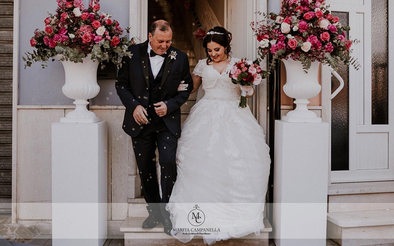 matrimonio stile inglese padre sposa