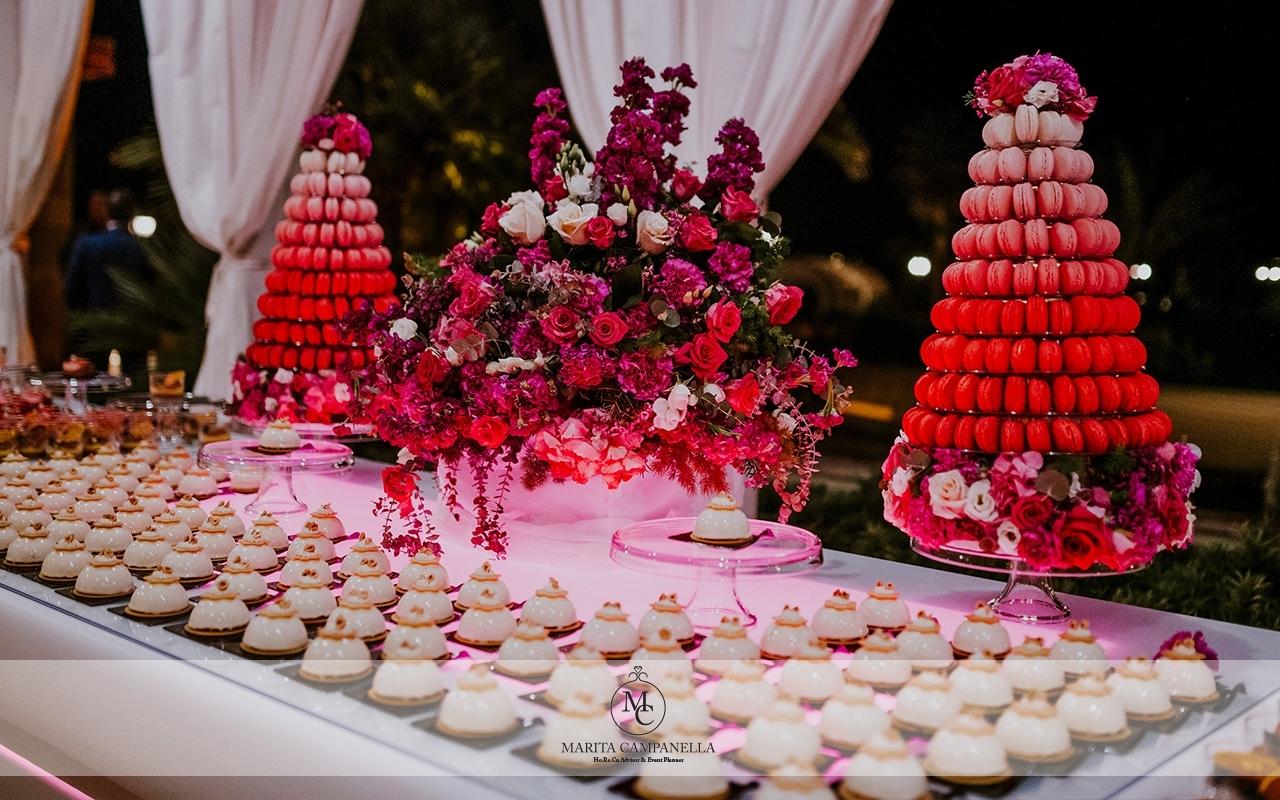 matrimonio stile inglese sweet table