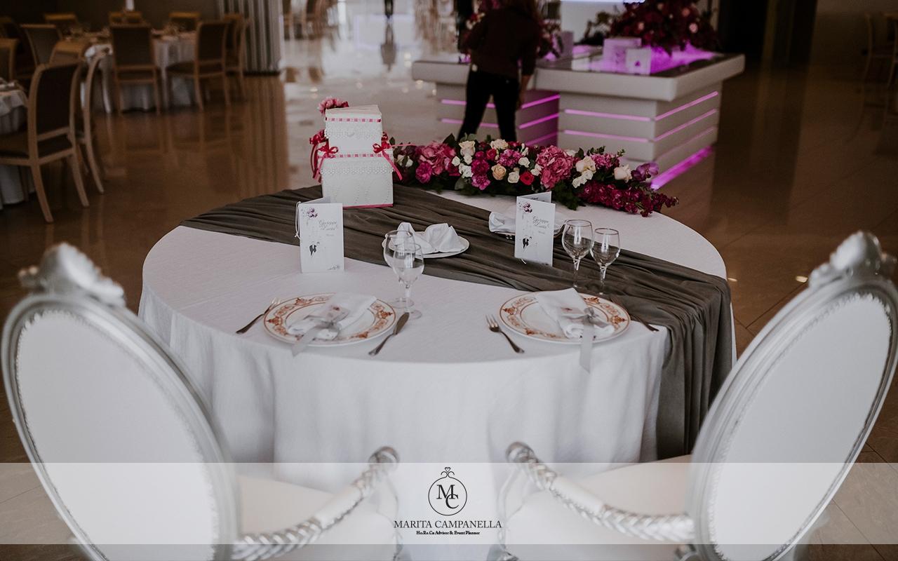 matrimonio stile inglese tavolo sposi