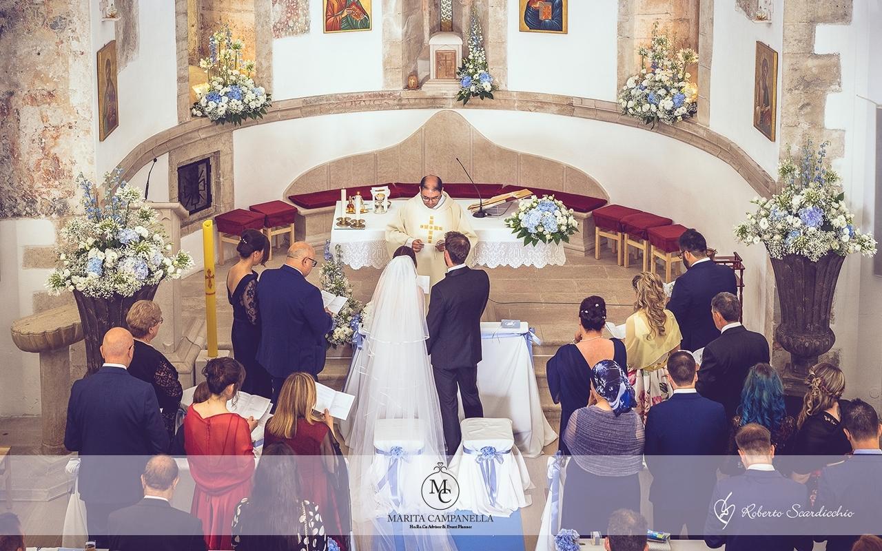 matrimonio tema viaggio allestimento matrimonio chiesa