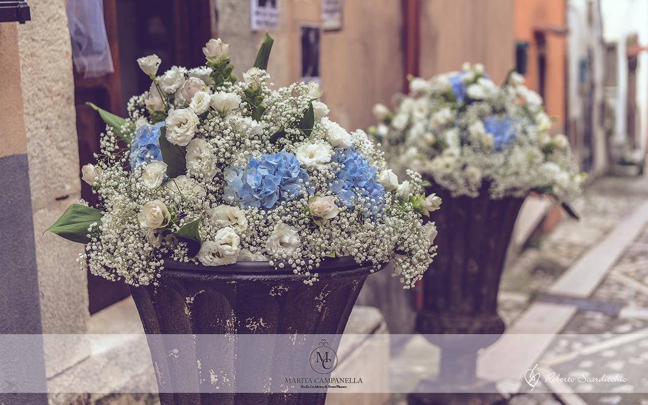 matrimonio tema viaggio fiori matrimonio