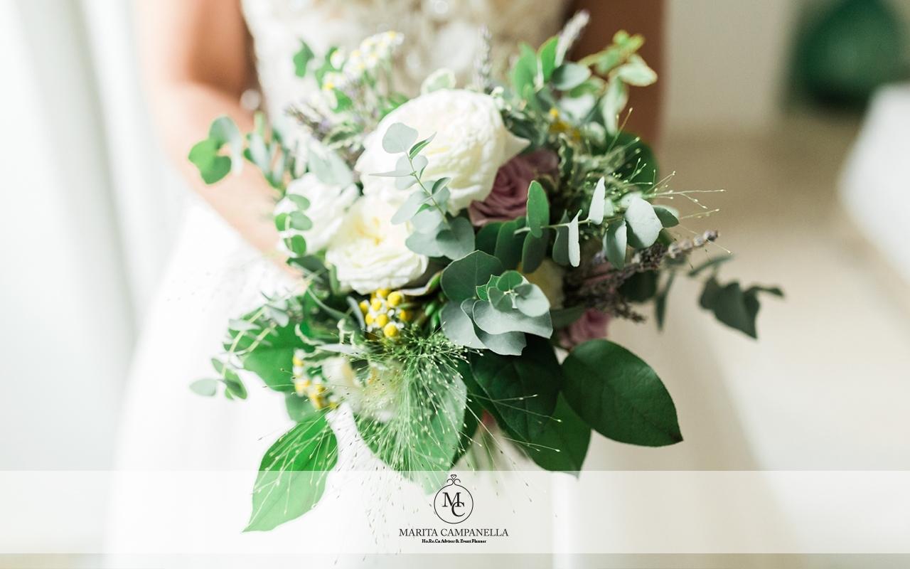 matrimonio minimal chic bouquet matrimonio