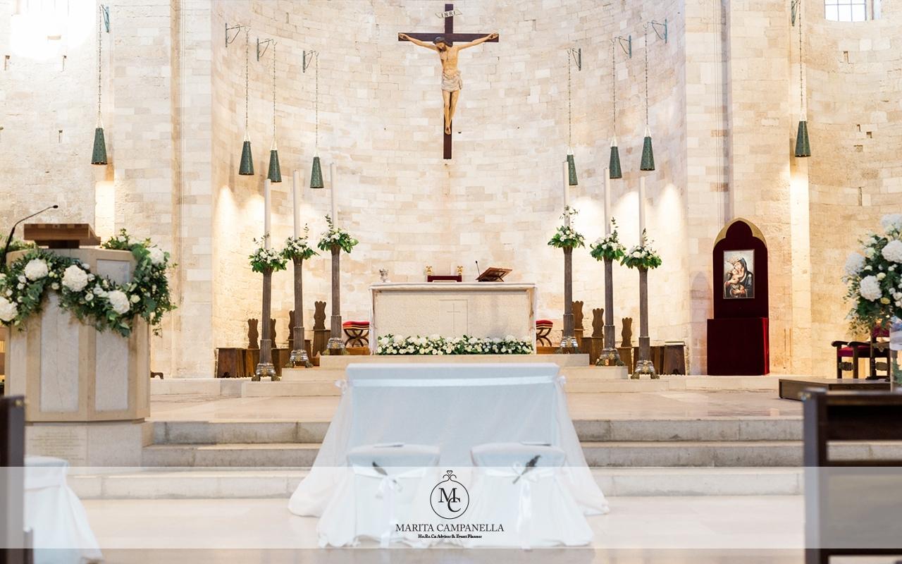 matrimonio minimal chic decorazioni chiesa matrimonio