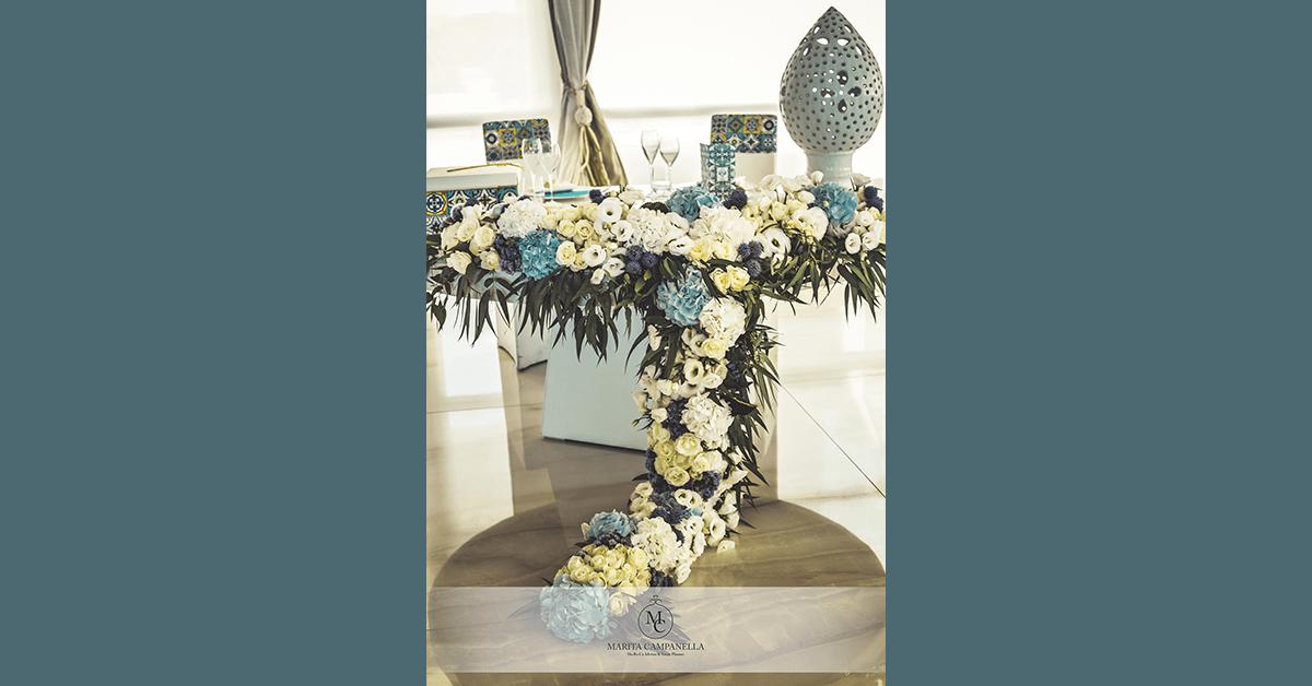 matrimonio allitaliana tavolo sposi