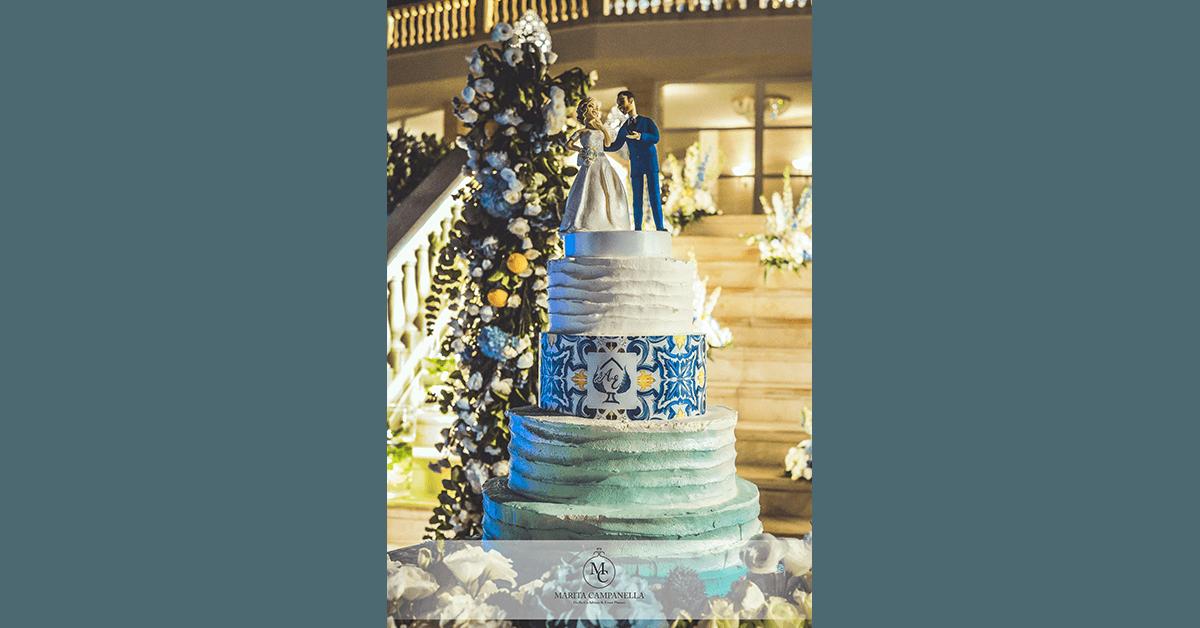 matrimonio allitaliana torta nuziale a piani