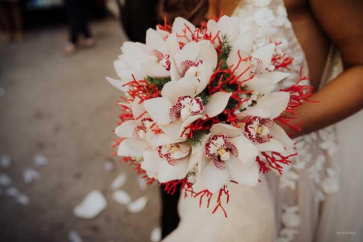 matrimonio antonio e annarosa bouquet sposa