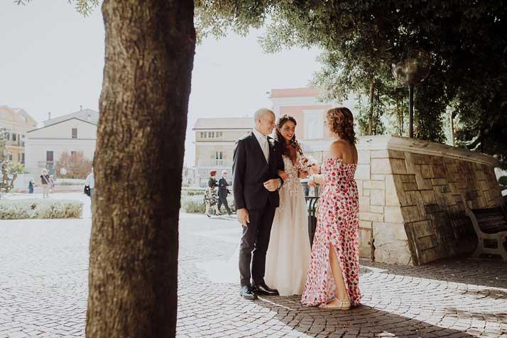 matrimonio antonio e annarosa sposa con marita campanella