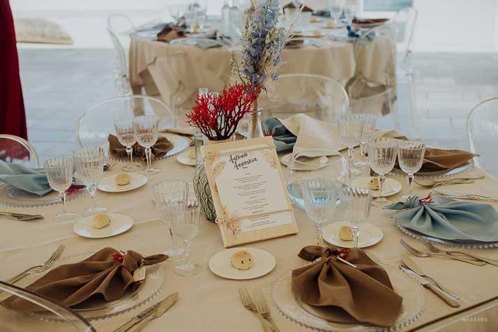 matrimonio antonio e annarosa tavolo invitati