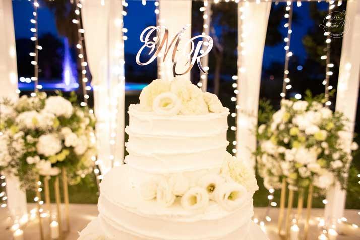 matrimonio marco e rossella particolare torta nuziale